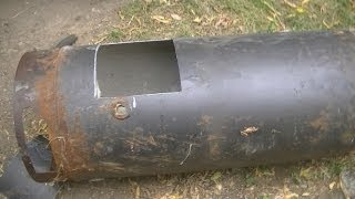 getlinkyoutube.com-Waste Oil Burning Furnace Pt1