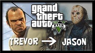 getlinkyoutube.com-GTA V - Trevor ➜ Jason Voorhees [FRENCH]