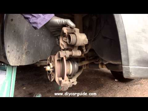 Fiat Punto Front Brake Pads Replacement