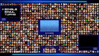 MY MUGEN ROSTER [SCREENPACK EVE HD EDITED BY ME] - 756 CHARACTERS - 69 STAGES + DOWNLOAD LINKS