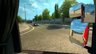 getlinkyoutube.com-Euro Truck simulator 2 premiere video test scania sound v8