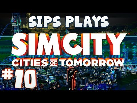 Simcity - Cities of Tomorrow (Full Walkthrough) - Part 10 - Tom Clark Memorial Megatower