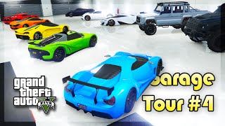 getlinkyoutube.com-GTA 5 Online - INSANE 50 CARS GARAGE TOUR! (Garage Tour #4)