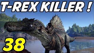 """getlinkyoutube.com-ARK Survival Evolved - E38 """"T-Rex Killer!"""" (Gameplay / Playthrough / 1080p)"""