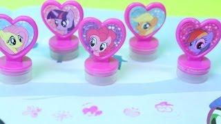 getlinkyoutube.com-MY LITTLE PONY Набор печатей маленьких Пони
