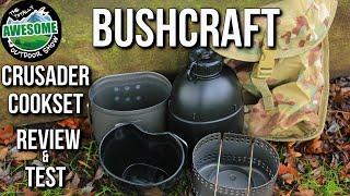 getlinkyoutube.com-Bushcraft Cookset - Crusader MK2 Review & Test | TA Outdoors