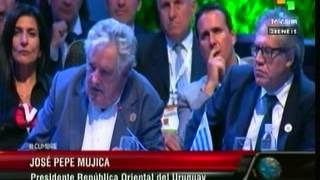Mujica Cardona ante asamblea CELAC 2015