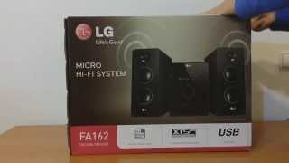 getlinkyoutube.com-Unboxing - Mini Hi-Fi LG F2162