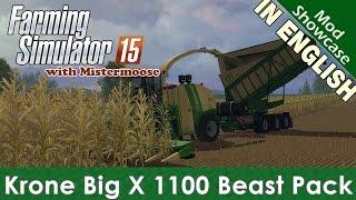 Farming Simulator 2015 - Krone Big X 1100 Beast Pack - Mod Showcase