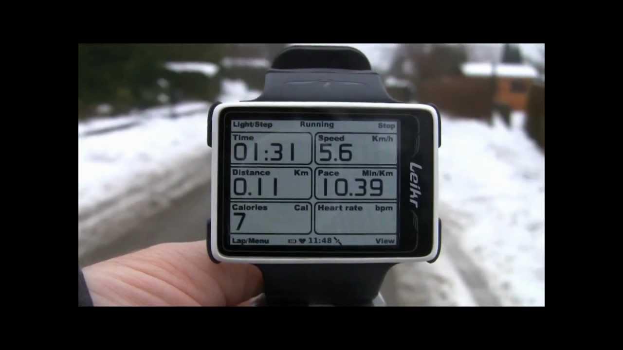 Kartan på armen med Leikr GPS-klocka -Kent Clarström