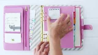 getlinkyoutube.com-How to Customise your kikki.K Planner & Make it Oh So Cute
