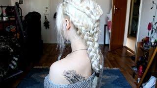 "getlinkyoutube.com-Game of Thrones Hair - Daenerys Targaryen ""Pyre"" Scene"