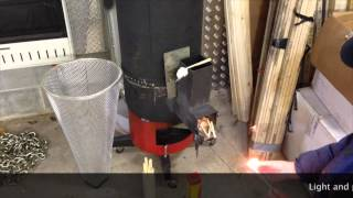 getlinkyoutube.com-Rocket stove heater build start to finish