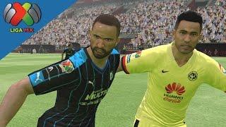 getlinkyoutube.com-PES 16  America vs Queretaro   Liga MX   Apertura 2015   J14