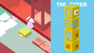 getlinkyoutube.com-★ CROSSY ROAD unlock THE TOTEM ★ New Secret Character Monument Valley | iOS, Android