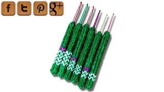 getlinkyoutube.com-DIY soft-grip handle for crochet hooks - Dr. Loom - © Woolpedia