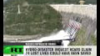 getlinkyoutube.com-Horror Footage: CCTV cameras catch dam burst