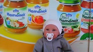 getlinkyoutube.com-Реборн Ульяша в магазине за покупками