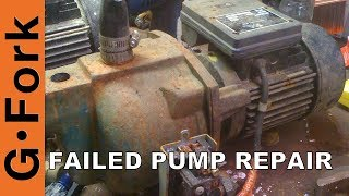 getlinkyoutube.com-Well Water Pump Repair Failure - GardenFork