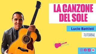 getlinkyoutube.com-LA CANZONE DEL SOLE - LUCIO BATTISTI - DIVERTIAMOCI CON LA CHITARRA