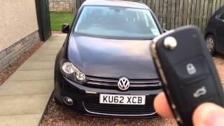 getlinkyoutube.com-VW Mk6 Golf Folding Mirrors On Remote