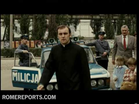 Movie recalls martyr Polish priest Jerzy Popieluszko  chaplain to Solidarity Movement