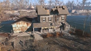 Fallout 4 : How to FIX Taffington Boathouse Roof Properly!