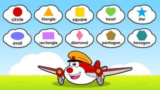 Learn Shapes for Children, Little Flyers, DreamEnglish