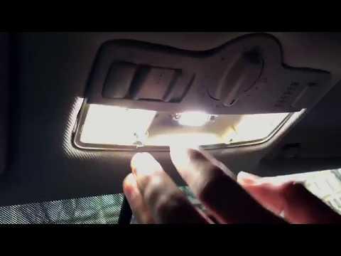 Замена ламп освещения салона на LED