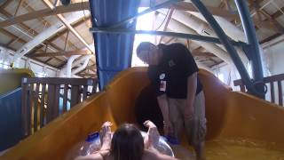 getlinkyoutube.com-Water Slides at Great Wolf Lodge