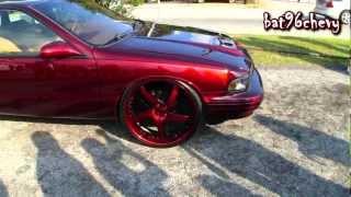 "getlinkyoutube.com-Candy Brandywine 96 Impala SS on 24"" Forgiatos - 1080p HD"