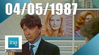 20h Antenne 2 du 04 mai 1987 - Mort de Dalida | Archive INA