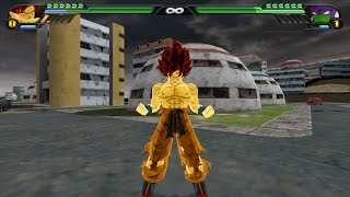 getlinkyoutube.com-Goku false SSJ vs Lord Slug (Dragon Ball Z Budokai Tenkaichi 3 Mod)