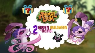 getlinkyoutube.com-2 Hidden Halloween Items on Animal Jam!
