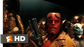 getlinkyoutube.com-Hellboy 2: The Golden Army (10/10) Movie CLIP - Hellboy vs. The Golden Army (2008) HD