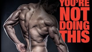 getlinkyoutube.com-Best Back Exercise You're NOT Doing - Build A BIGGER BACK