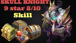 getlinkyoutube.com-Castle Clash Skull Knight 9 Star 8/10 Skill! Crazy!