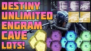 getlinkyoutube.com-Destiny: Loot Cave Unlimited Engrams! Best Cave! Fast Spawn Rate!!