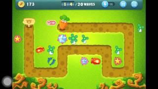 getlinkyoutube.com-Let's Play: Carrot Fantasy Jungle Level 3 Walkthrough