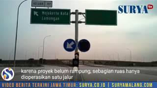 JALAN TOL SURABAYA-JOMBANG-KERTOSONO DIBUKA