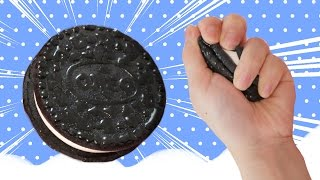 getlinkyoutube.com-DIY Squishy Oreo STRESS BALL Tutorial