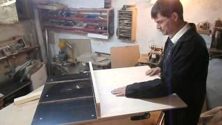 getlinkyoutube.com-Изготовление каретки для распиловочного стола. Table saw sled.