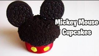 getlinkyoutube.com-Mickey Mouse Cupcakes