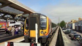 getlinkyoutube.com-Poole to Weymouth South Western Main Line SWT Class 444 Desiro