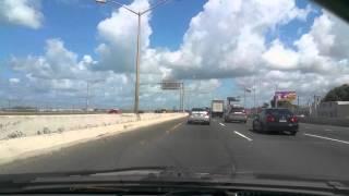 getlinkyoutube.com-Driving in Puerto Rico (Baldorioty Expressway)