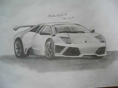 Re: How to Draw Lamborghini Gallardo Step by Step