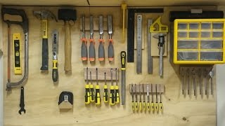 getlinkyoutube.com-Replacing My French Cleat Hand Tool Storage