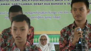 getlinkyoutube.com-Juara 1 Nasyid Islami Aktivitas Ramadhan 1437 H MTs