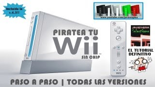 getlinkyoutube.com-Como Piratear Hackear Wii Sin Chip ni Juego   Incluye v4.3   Paso a Paso   Tutorial en Español