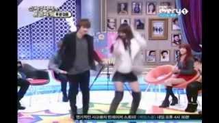 getlinkyoutube.com-Super Junior Eunhyuk dancing with Sistar